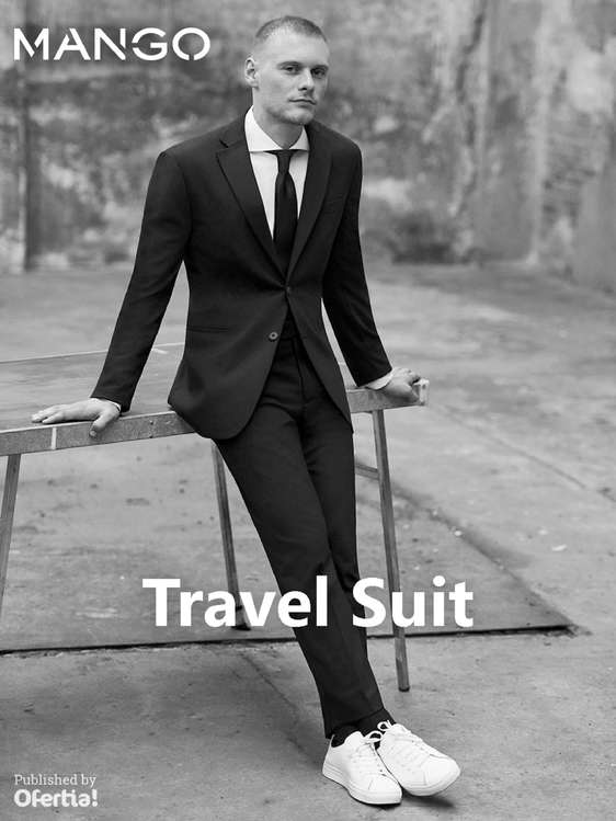 Ofertas de Mango, Travel Suit