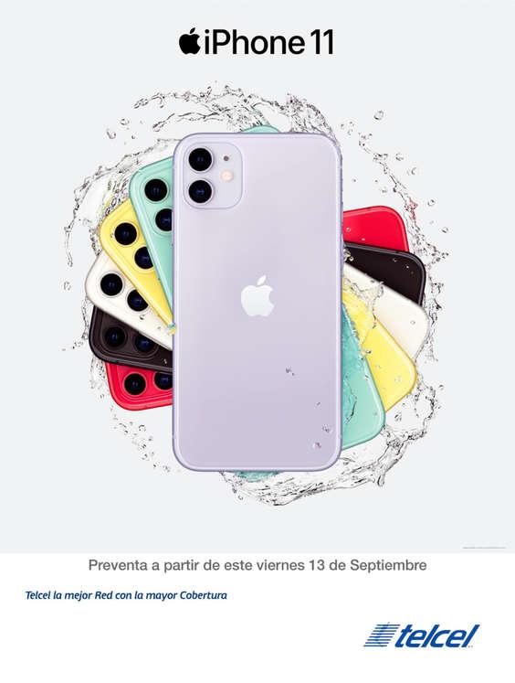 Ofertas de Telcel, iPhone 11