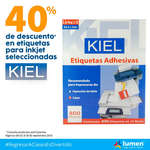 Ofertas de Lumen, 40% de descuento KIEL