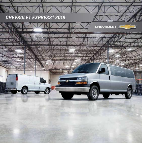 Ofertas de Chevrolet, Catálogo chevrolet Express 2018