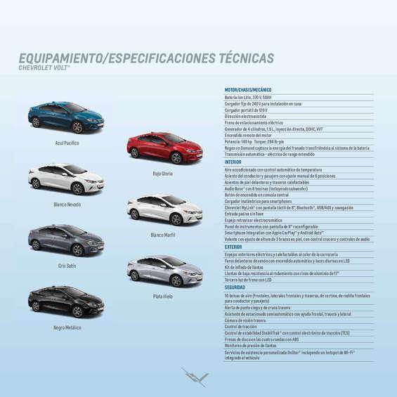 Ofertas de Chevrolet, catalogo volt 2019