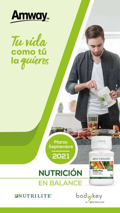 Ofertas de Amway, Nutrición