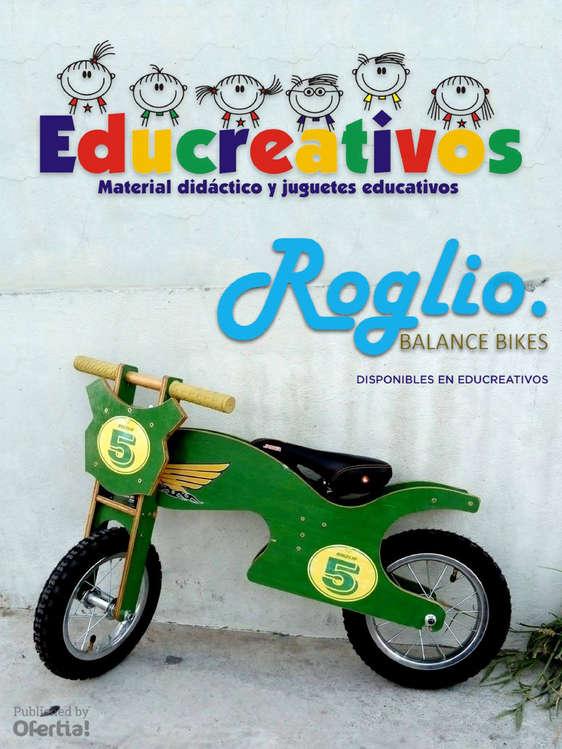 Ofertas de Educreativos, Roglio Balance Bikes en Educreativos