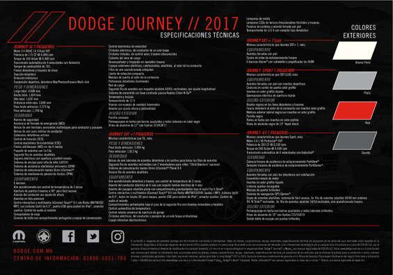 Ofertas de Dodge, Journey 2017