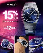Ofertas de JOYERÍAS BIZZARRO, 15% de descuento en relojería