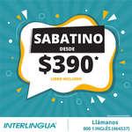 Ofertas de Interlingua, Cursos Sabatinos