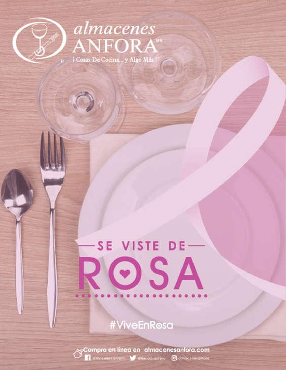 Ofertas de Almacenes Anfora, #ViveEnRosa Almacenes Anfora se Viste de Rosa