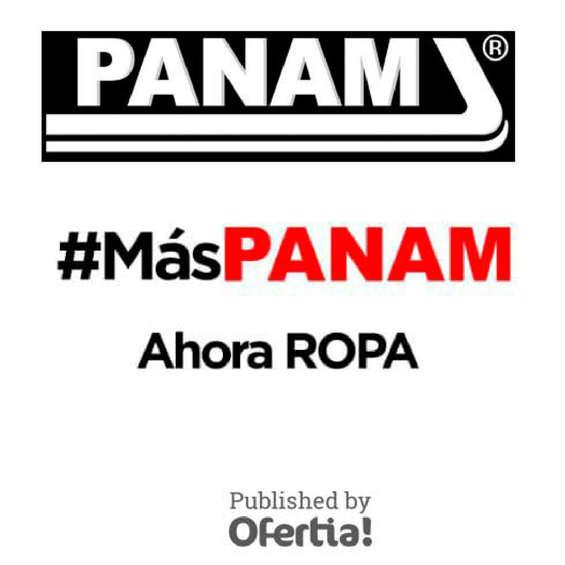 Ofertas de Panam, Ropa Panam