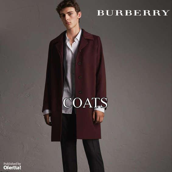 Ofertas de Burberry, Coats