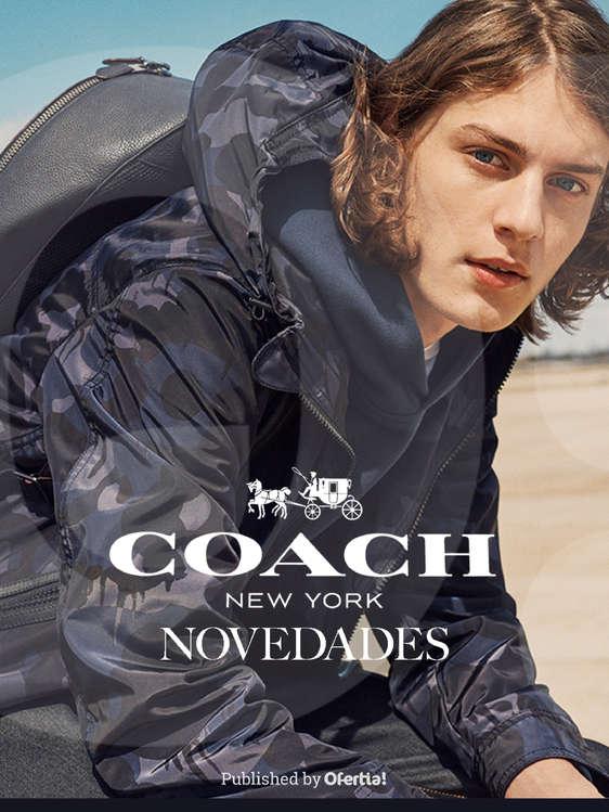 Ofertas de Coach, Novedades Caballero