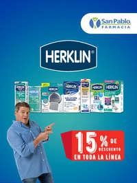 Herklin 15% de descuento en toda la línea
