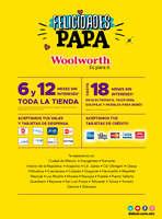 Ofertas de Woolworth, Felicidades Papá - CDMX