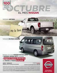Octubre mes Nissan