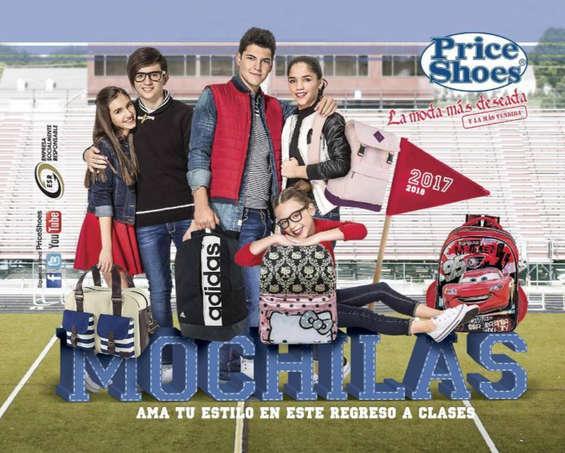 Ofertas de Price Shoes, Mochilas - ama tu estilo en este regreso a clases