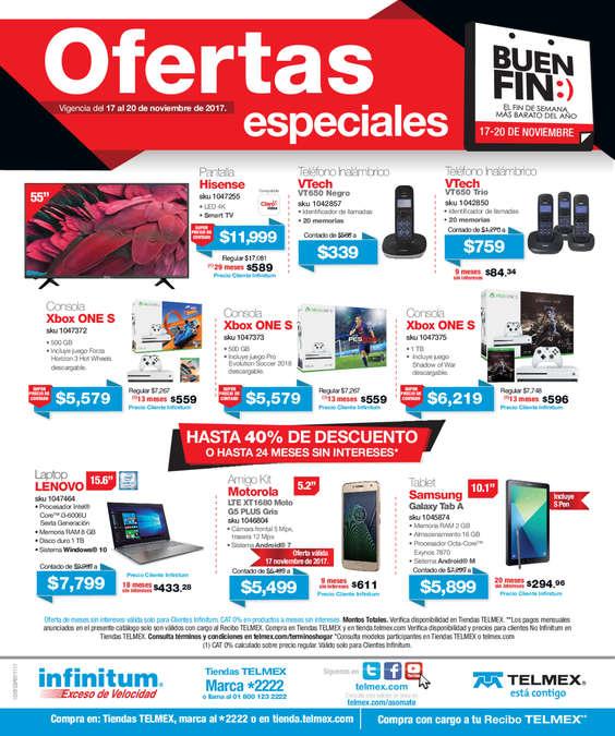 Ofertas de Telmex, Ofertas Especiales Buen Fin