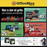 Ofertas de Office Max, Ven a dar el grito con nuestras promociones
