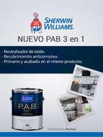 Ofertas de Sherwin Williams, Nuevo PAB 3 en 1