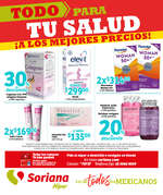 Ofertas de Soriana Híper, Folleto Farmacia Híper