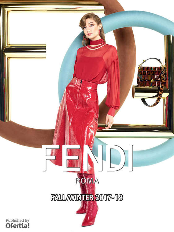 Ofertas de Fendi, FW2017