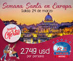 Ofertas de RS Viajes, Semana Santa en Europa