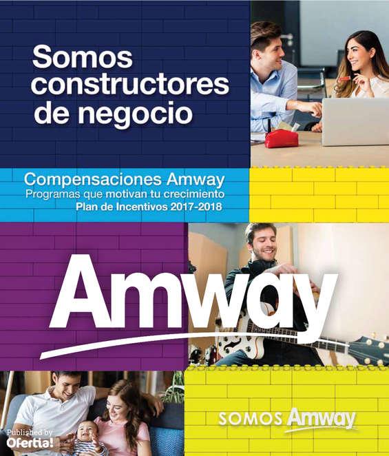 Ofertas de Amway, Plan De Incentivos 2017-2018