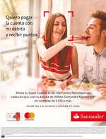 Ofertas de Santander, Quiero pagar con mi débito y recibir puntos