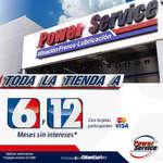Ofertas de Power Service, Meses sin intereses en todas las tiendas