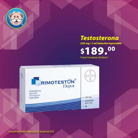 Ofertas de Farmacias Similares, Testosterona