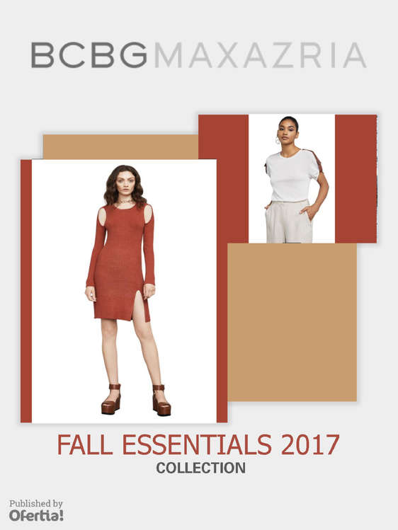 Ofertas de BCBGMAXAZRIA, Fall Essentials