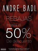 Ofertas de André Badi, Rebajas 50% Descuento