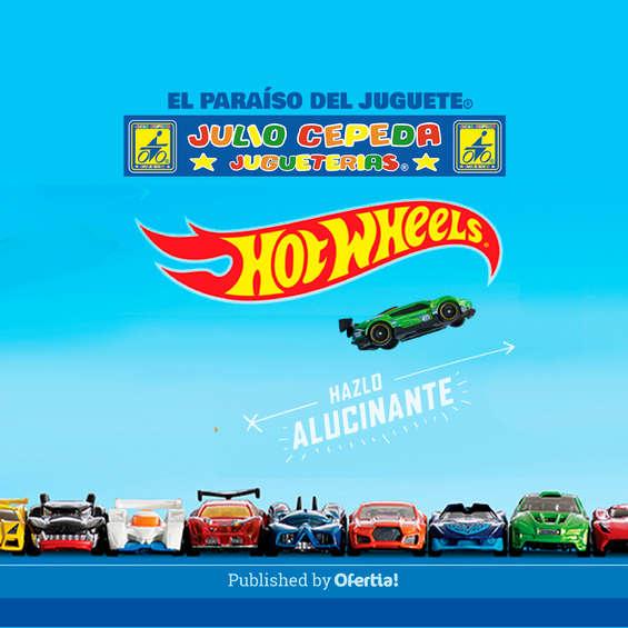 Ofertas de JULIO CEPEDA JUGUETERÍAS, Hot wheels