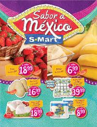 Sabor a México S-mart- Díptico Sendero