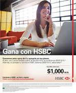 Ofertas de HSBC, Gana con HSBC