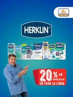 Ofertas de Herklin, Herklin 20% de descuento en toda la línea