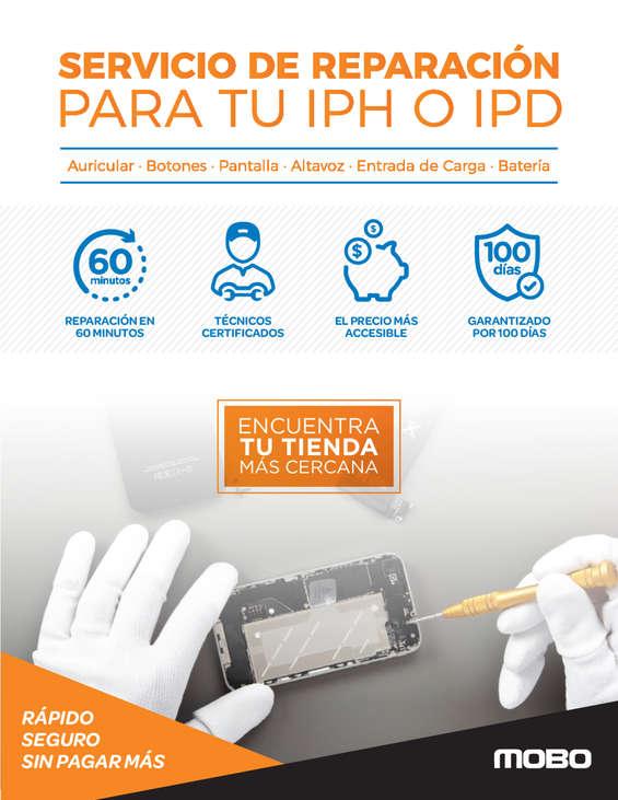 Ofertas de Mobo, Servicio de Reparación para tu iPH o IPD