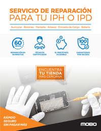 Servicio de Reparación para tu iPH o IPD