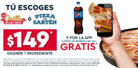 Refresco gratis Domino's