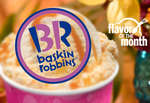 Ofertas de Baskin Robbins, Flavor of the month