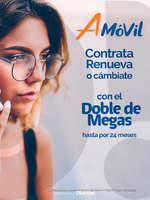 Ofertas de A-Móvil, DOBLE DE MEGAS hasta por 24 meses