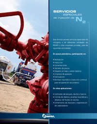 Servicios especiales de inyección de N2