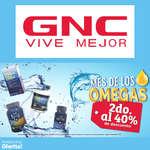 Ofertas de GNC, Mes De Los Omegas