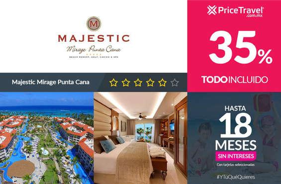 Ofertas de Price Travel, Descuento Majestic