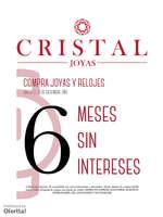 Ofertas de Cristal Joyas, Compra Joyas y Relojes a 6 Meses Sin Intereses