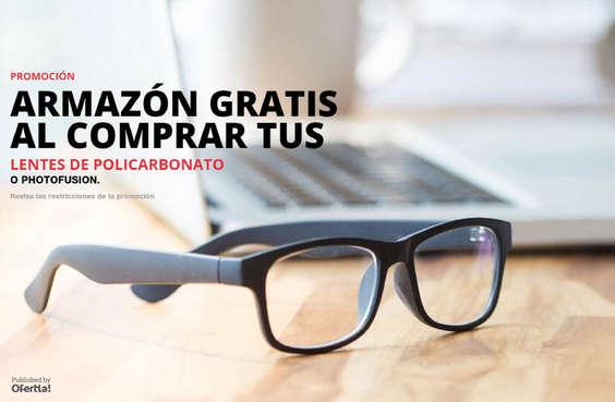 Ofertas de Especialistas Ópticos, Armazón Gratis