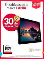 Ofertas de Office Depot, Buen Fin - Tablets Lanix