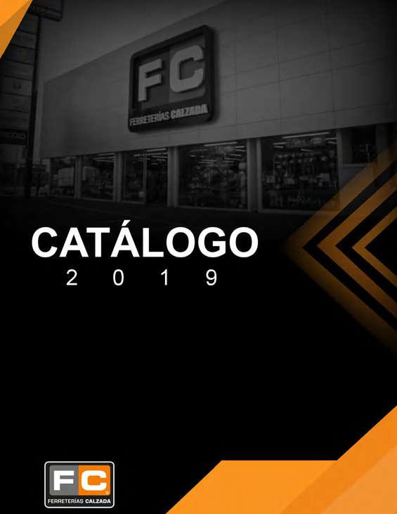 Ofertas de Ferreterías Calzada, Catálogo FC 2019