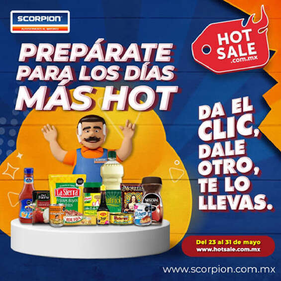 Ofertas de Scorpion, Hot Sale