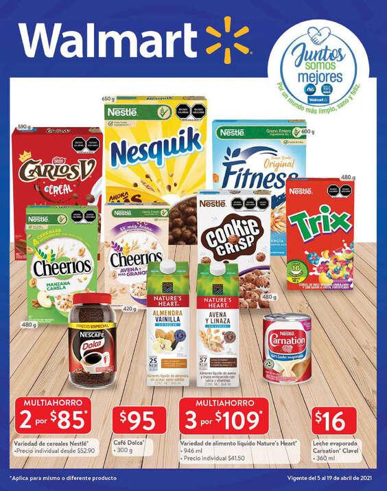 Ofertas de Walmart, Folleto