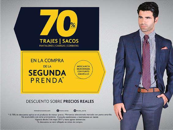 Ofertas de Bruno Corza, Trajes y sacos