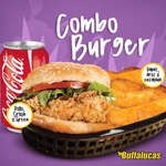Ofertas de Buffalucas, Combo Burger